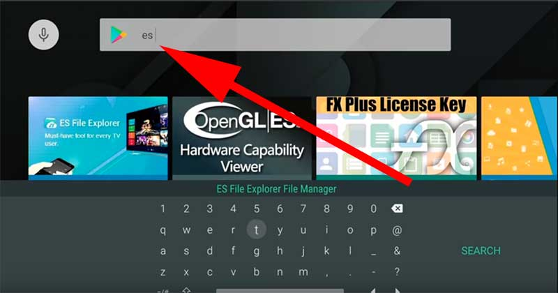 Search es on play store nvidia shield